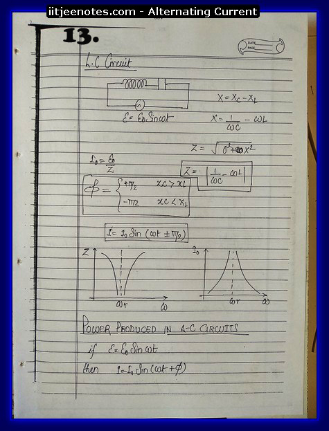 alternating current notes3