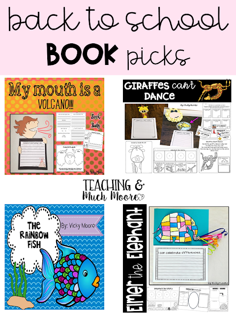 back to school pictures book favorites