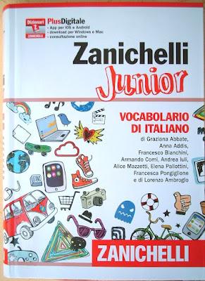 Copertina Dizionario Zanichelli Junior