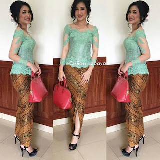contoh model kebaya simple