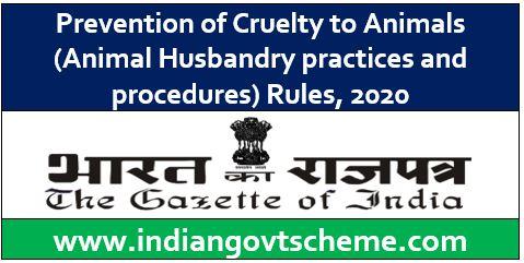Prevention of Cruelty to Animals