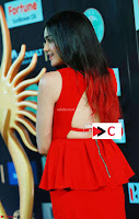 Adah Sharma in Red Deep Neck Spicy Gown ~  Exclusive 56.jpg
