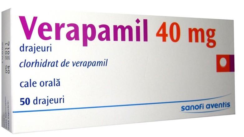 سعر ودواعى إستعمال دواء فيراباميل Verapamil للذبحة الصدرية