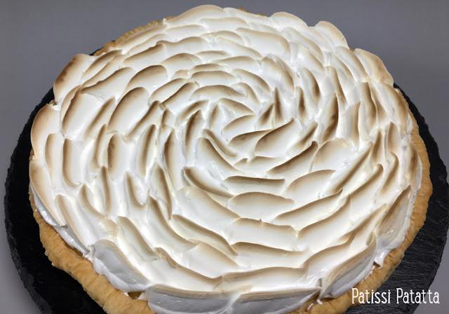 recette de tarte au citron meringuée, tarte au citron meringuée, crème citron Ferrandi, meringue italienne Ferrandi, comment faire de la meringue italienne, pâtisserie, dessert, le dessert préféré des français, patissi-patatta