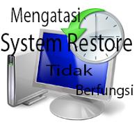 mengatasi system restore yang error