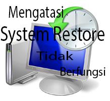 Mengatasi System Restore Yang Tidak Berfungsi