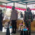 Koramil 02/TB Dampingi Dandim 0503/JB Kunjungi Vaksinasi Merdeka di RPTRA Krendang