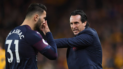emery angry with himself wolves loss