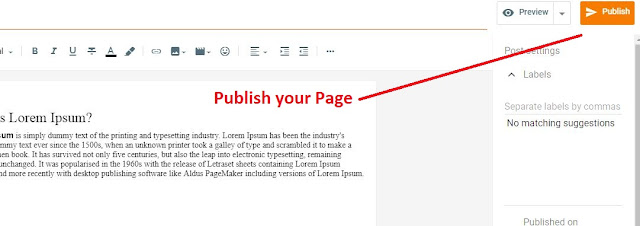 create free blog website