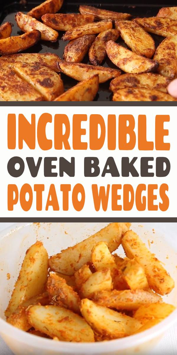Here I share with you a some game changing tips to getting Oven Baked Potato Wedges that are crispy and crunchy on the outside, yet light and fluffy on the inside! #wedges #fingerfood #potatowedges #appetizers #potato