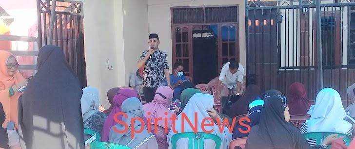 Paslon TAHFIDZ H. Hafid Daeng Naba Tatap Muka Tim Pemenangan Emak Emak di BTN Asabri Moncongloe Lappara