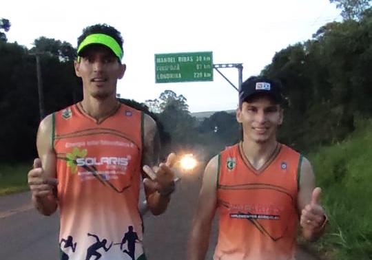 Maratonistas de Manoel Ribas fazem história ao percorrer trecho de 32 quilômetros