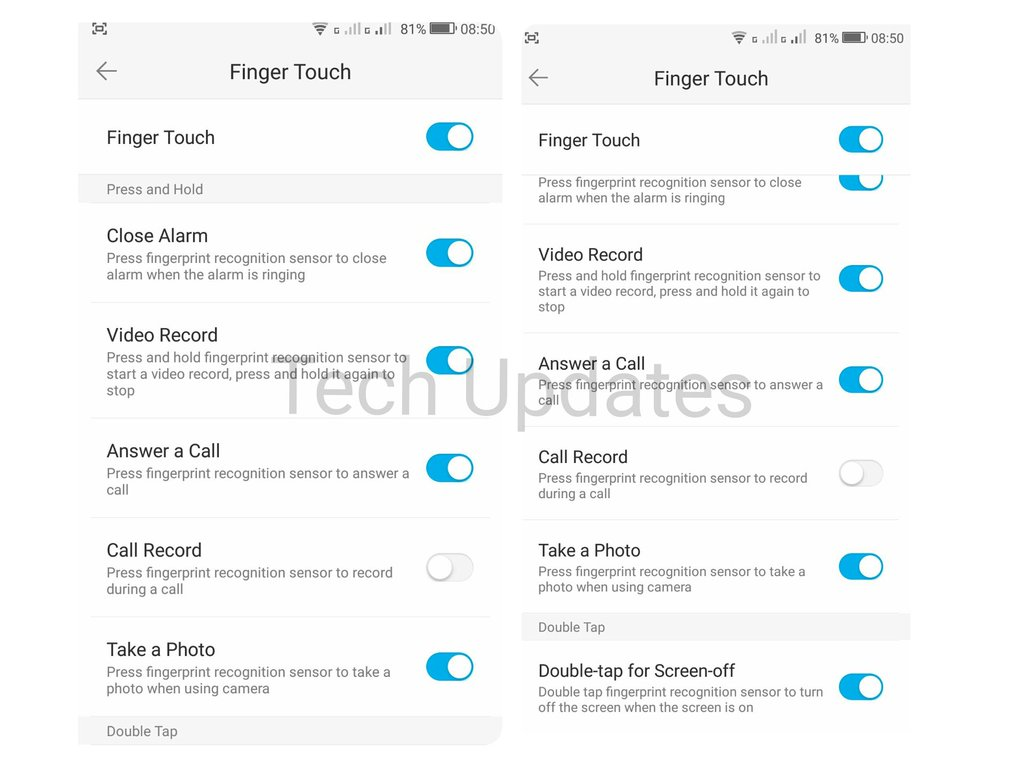 How to setup Fingerprint scanner on Coolpad Note 5 and