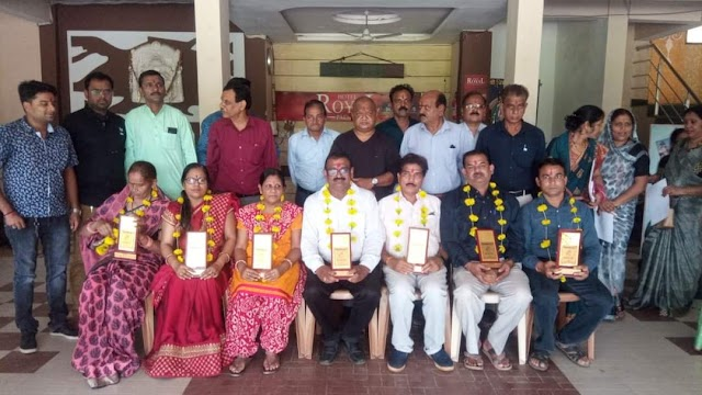 Vidisha 5 September teachers day || समाज और समाज सेवा के लिए समर्पित शिक्षकों का किया अखिल भारतीय कायस्थ महासभा विदिशा ने सम्मान!!