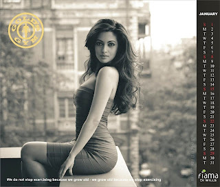 Gold's Gym Released Bollyood Calendar 2012