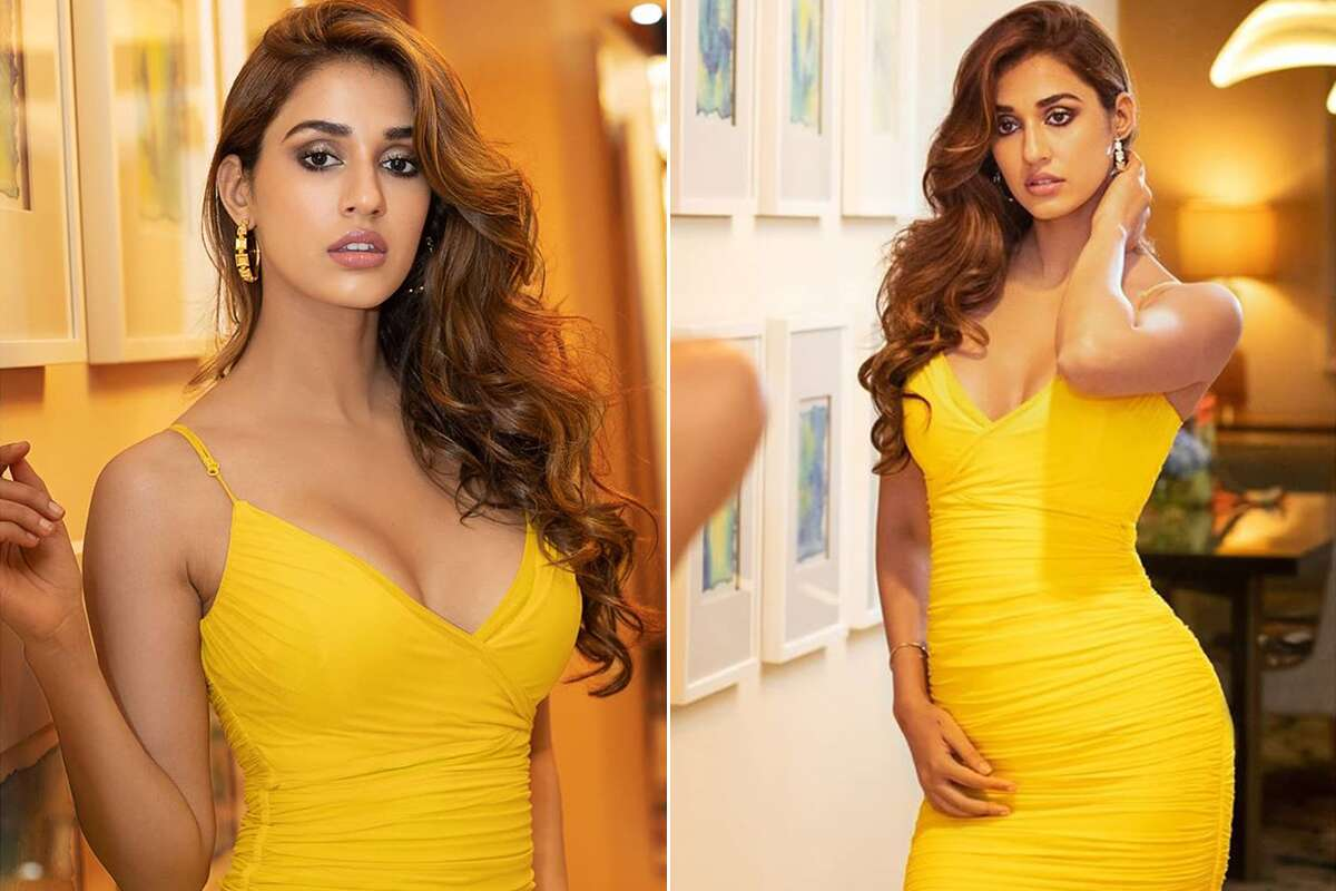 disha-patani-stunning-avatar-in-a-bright-yellow-dress