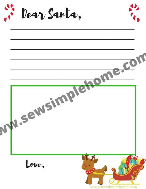 Free Christmas Wish List And Letter To Santa Printables