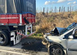 Grave acidente deixa uma pessoa morta e 5 feridas na BR-230, na Paraíba
