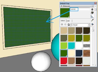 cara Membuat Efek Cermin Pada Vray Sketchup