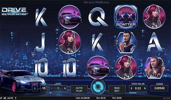 Main Gratis Slot Indonesia - Drive Multiplier Mayhem NetEnt