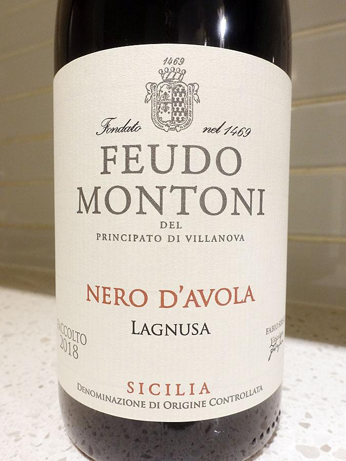 Feudo Montoni Lagnusa Nero d'Avola 2018