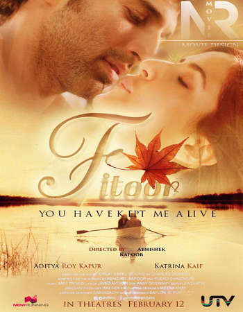 Poster Of Fitoor 2016 Hindi 375MB DVDRip 480p ESubs Free Download Watch Online