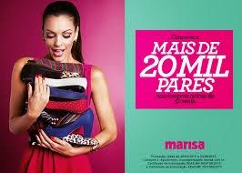 bf4fc0d5ac Promoção Loucas Por Sapato - Marisa - Baú da Promoção - Promoções Online