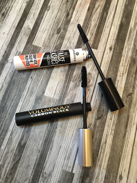Essence False Lash Mascara VS L'Oreal Voluminous Carbon Black (Drugstore Mascara)