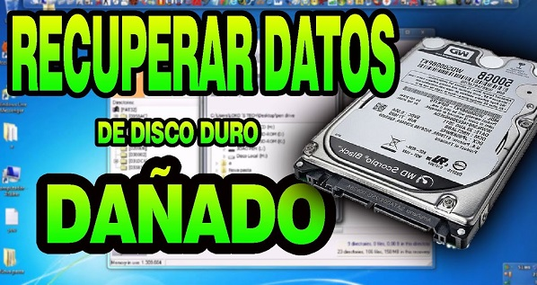tutorial para extraer datos de disco duro pendrive