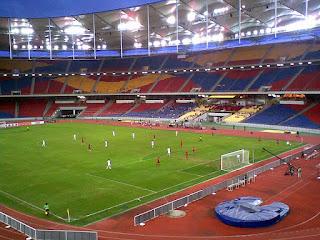 Ukuran Stadium Nasional Bukit Jalil