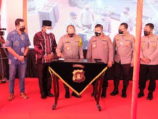 Jambi Menghadiri Launching 100.000 Rumah PNPP