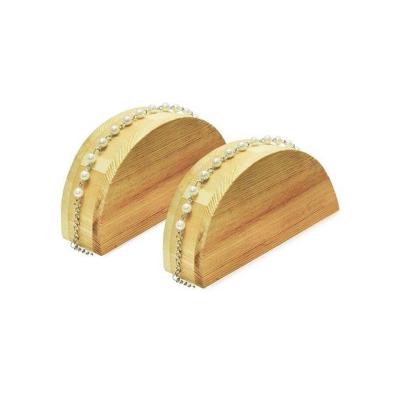 #WD302 Wooden Bracelet Display Ramp