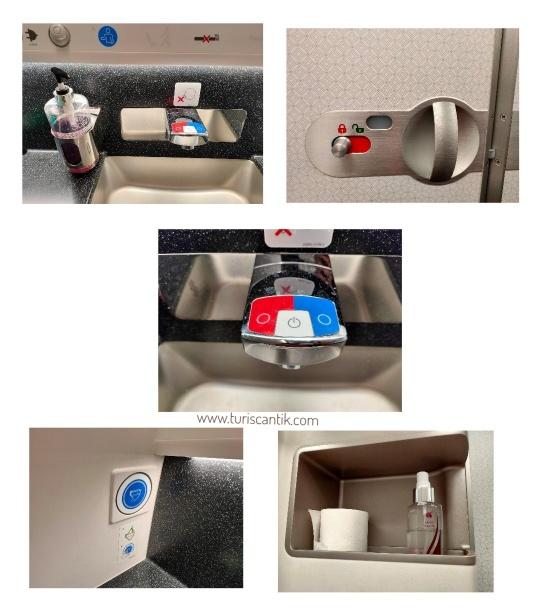 toilet bersih qatar airways