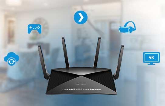 Netgear Nighthawk X10 Wireless AD Router :Wireless Router Printer
