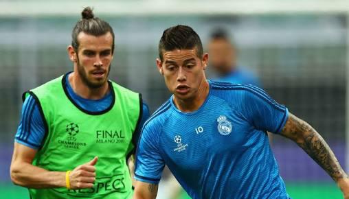 Bale & James Not Ready to Return to Madrid Squad - Zidane
