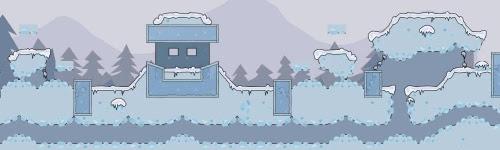 snowblind map