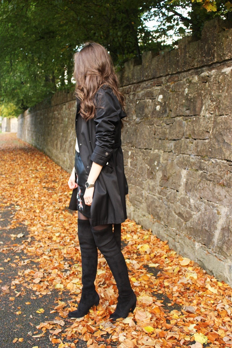 ootd, outfit of the day, fall outfit, long hair, irish blogger,