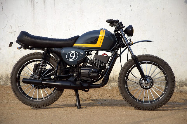 EIMOR Customs modified Yamaha rx 100