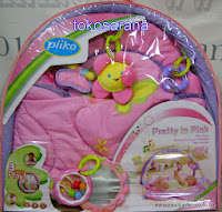 Baby Playmat Pliko PK6336 Pretty in Pink PlayGym