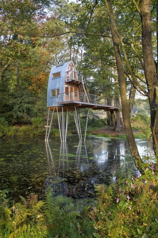 Casa Del árbol En Uslar Alemania Baumraum
