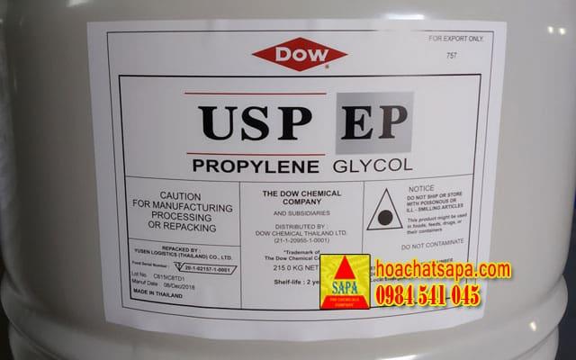 Sử dụng Propylene Glycol USP (PG dược) làm chất tải lạnh