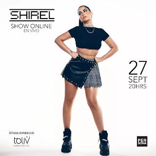 Shirel agenda su primer concierto en línea para este fin de semana