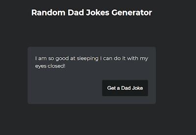 Random Jokes Generator javascript | Joke Generator html,css,javascript