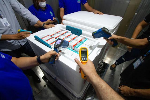 VACINAS: Pernambuco recebe 244 mil novas doses da vacina AstraZeneca/Fiocruz