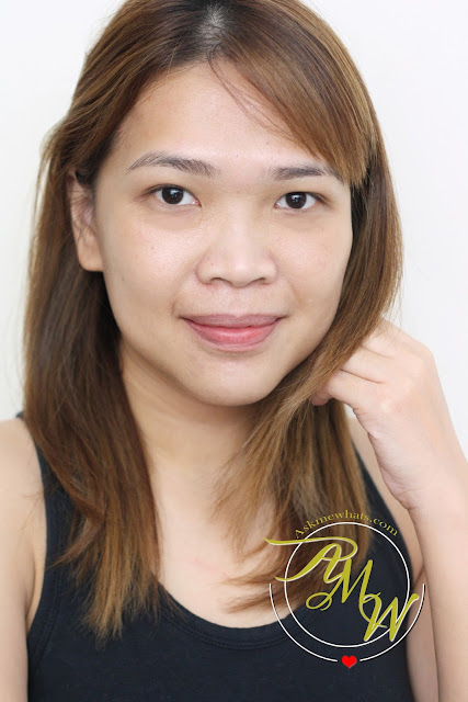a photo of barefaced askmewhats nikki tiu wearing Tony Moly Flash Primer SPF30 PA++ BB and CC Starter Face Mix