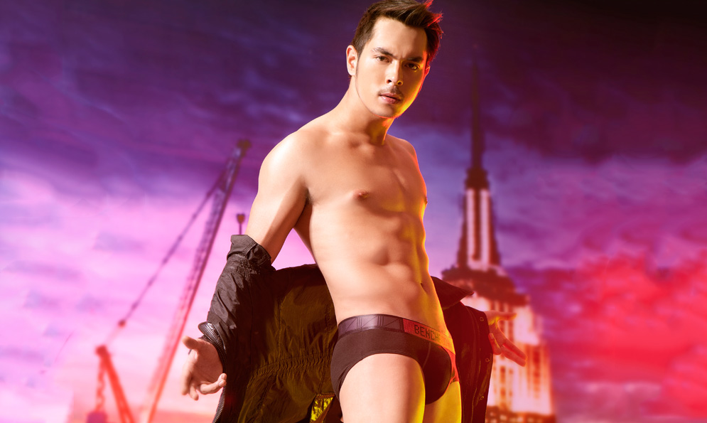 Jake Cuenca Underwear for Bench Back to School 2012