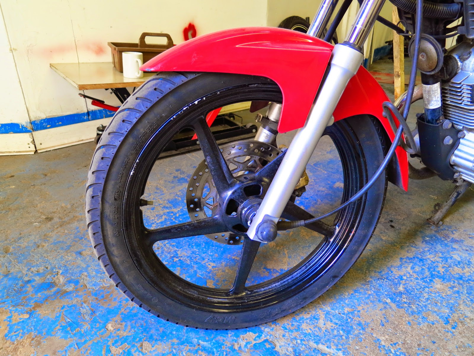yamaha tyre wheel service maintenance