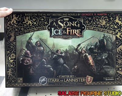 """[Review] Le kickstarter """"a song of ice and fire"""", game of thrones en figurine !"""