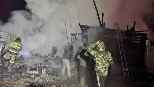 Сотрудница сгоревшего в Башкирии пансионата спасла трех постояльцев