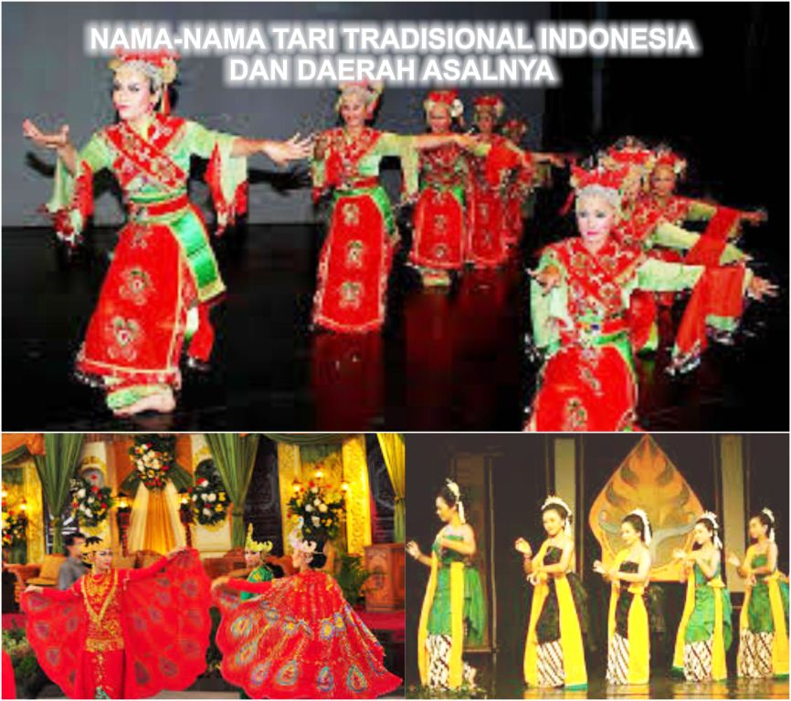 Nama Nama Tari Tradisional Indonesia Dan Daerah Asalnya Seni